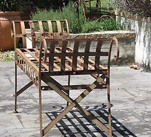 My Garden Bench by Lunaria