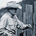 A Cowboy - Lillooet BC Canada by KansasA