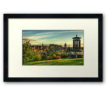 Edinburgh *Please View Larger* Framed Print