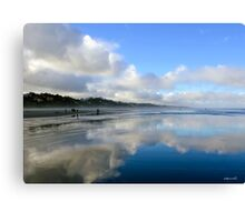 Morning Clammers Canvas Print