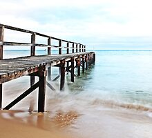 Shelly Beach Pier by Damon Colbeck