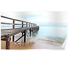 Shelly Beach Pier Poster