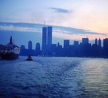 New York City Dawn by Alberto  DeJesus