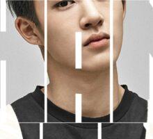 iKON B.I 'Kim Han Bin' Typography Sticker