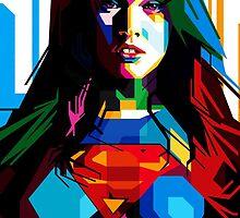 super girl by telansaja