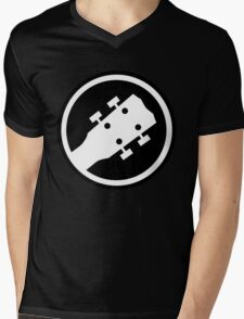 ukulele Mens V-Neck T-Shirt