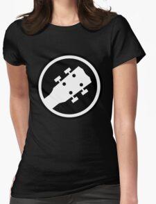ukulele Womens Fitted T-Shirt