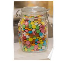 sweet candy in the jar Poster