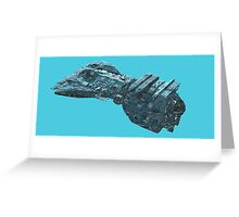 Battle wagon Greeting Card