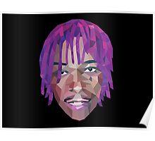 Wiz Khalifa Purp Lowpoly Poster