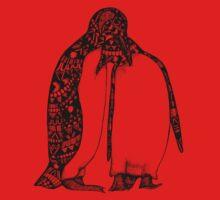 Penguin Hug One Piece - Long Sleeve