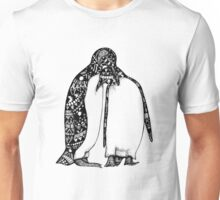 Penguin Hug Unisex T-Shirt