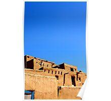 Taos Pueblo Poster