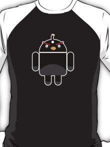 Droidbird (black bird) T-Shirt