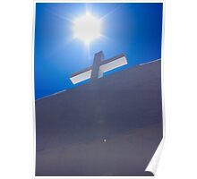 Cross at San Geronimo, Taos Pueblo Poster