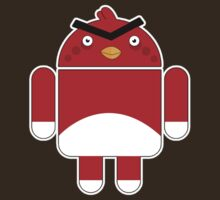 Droidbird (red bird) by weRsNs