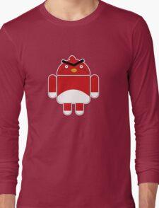 Droidbird (red bird) Long Sleeve T-Shirt