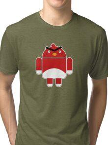 Droidbird (red bird) Tri-blend T-Shirt