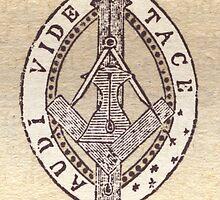 Masonic Vesica Piscis symbol by Shawn Eyer
