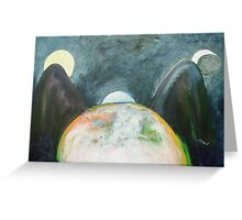 Earth Brings Forth Greeting Card