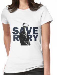 Save Rory Womens Fitted T-Shirt