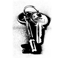 Keys Photographic Print