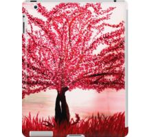 red tree iPad Case/Skin