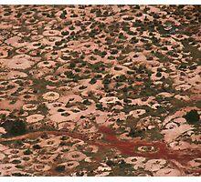 White Cliffs, a lunar landscape Photographic Print