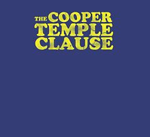 The Cooper Temple Clause Unisex T-Shirt