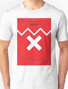 No304 My SIN CITY minimal movie poster Unisex T-Shirt
