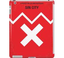 No304 My SIN CITY minimal movie poster iPad Case/Skin