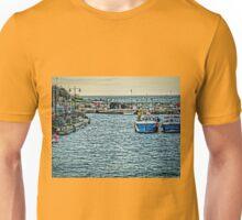 Newquay Harbour At High Tide Unisex T-Shirt