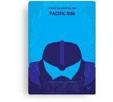 No306 My Pacific Rim minimal movie poster Canvas Print