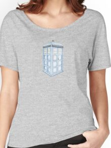 Tardis in Blue Women's Relaxed Fit T-Shirt