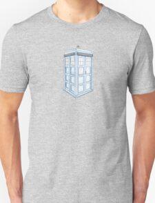Tardis in Blue T-Shirt