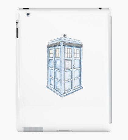 Tardis in Blue iPad Case/Skin