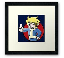 Elf Boy of Vault 231 Framed Print