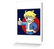 Elf Boy of Vault 231 Greeting Card