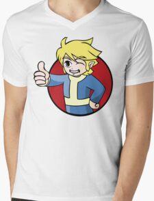 Elf Boy of Vault 231 Mens V-Neck T-Shirt