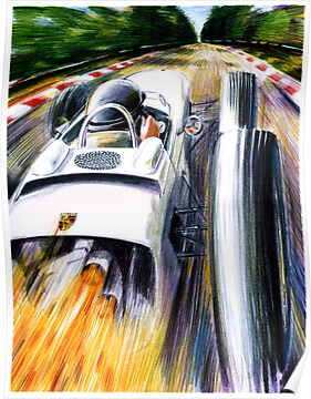 1962 Porsche Type 804 Formula 1 Race Car by Susana Weber