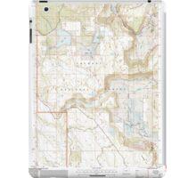 USGS Topo Map Oregon Barnes Valley 278943 2004 24000 iPad Case/Skin