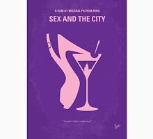 No308 My Sex and the City minimal movie poster Unisex T-Shirt