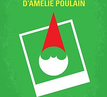 No311 My Amelie minimal movie poster by JinYong