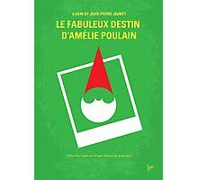 No311 My Amelie minimal movie poster Photographic Print