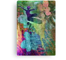 Ballet. Painting. Canvas Print