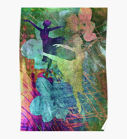 Ballet. Painting. Poster
