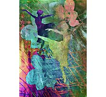 Ballet. Painting. Photographic Print