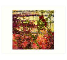 """""""Garden Wall"""" Art Print"""