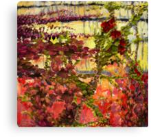 """""""Garden Wall"""" Canvas Print"""