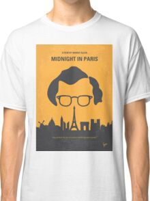 No312 My Midnight in Paris minimal movie poster Classic T-Shirt